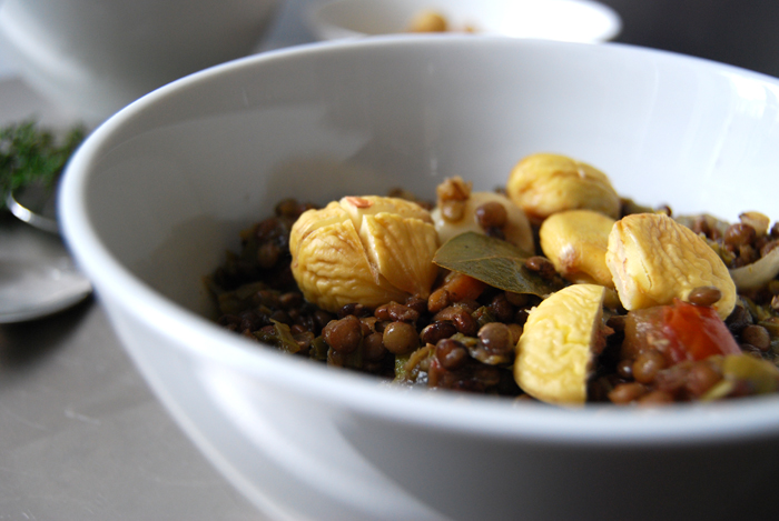 Lentils with Star-anis