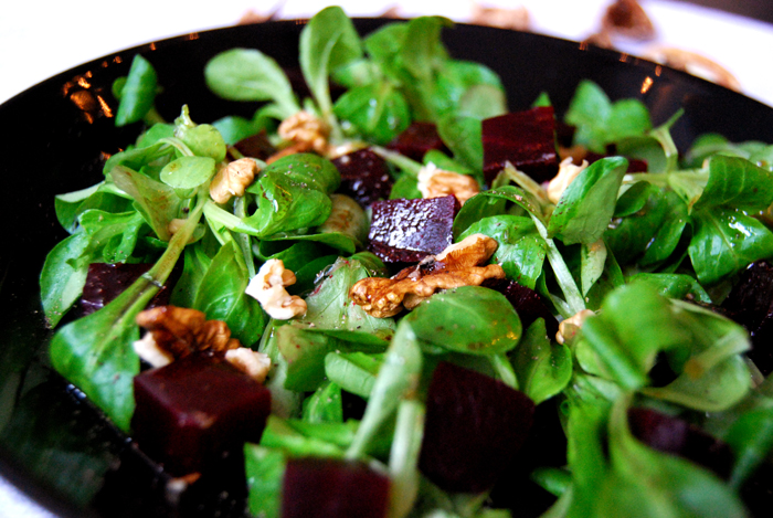 Field Salad +  Beetroot