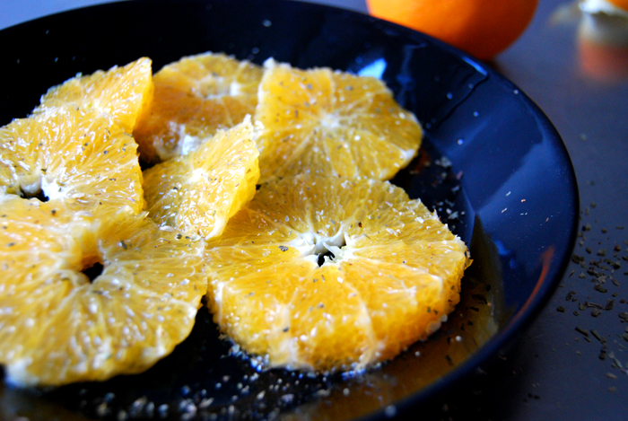 Oranges, Oregano + Olive Oil