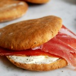 Flatbread Sandwich with Spices + Tyrolean Prosciutto
