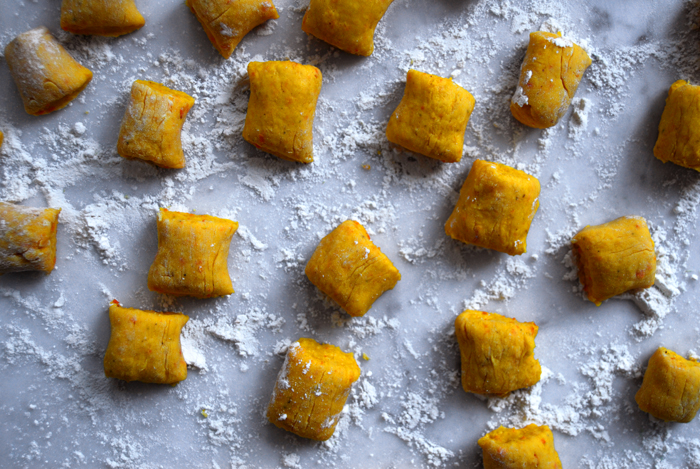 A Gnocchi Treat with Pumpkin and Nuts : eat in my kitchen
