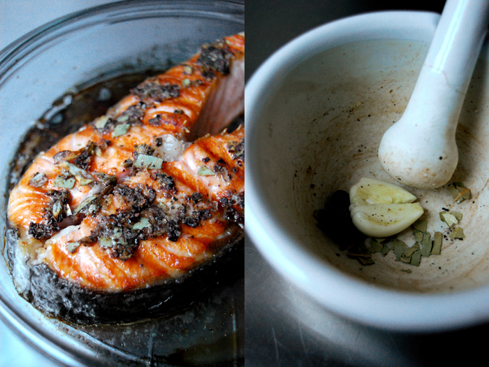Salmon with Winter Spices