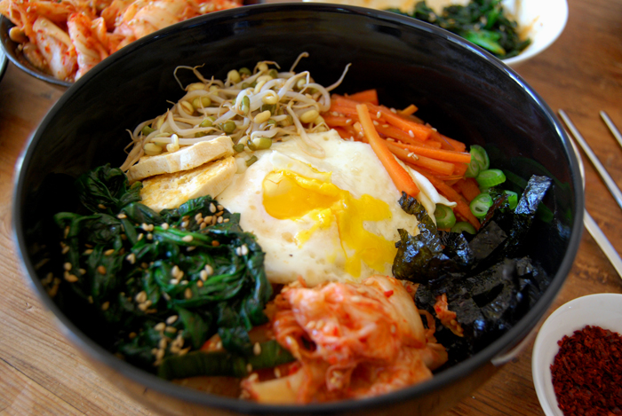 Yu-Kyong's Bibimbap, a traditional Korean treat - eat in ...