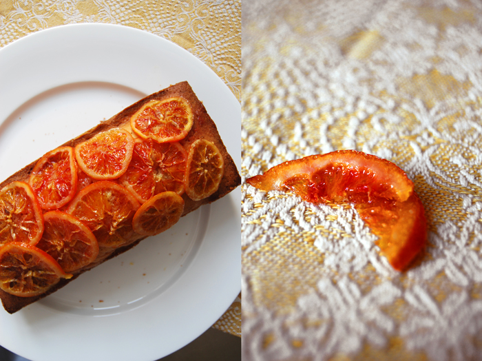 Blood Orange Cake