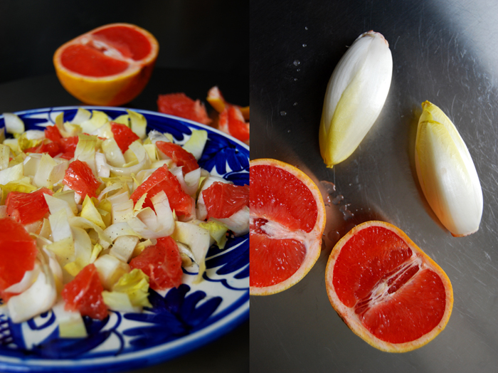 Chicory Grapefruit Salad