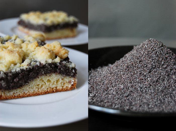 Poppy Seed Crumble Cake