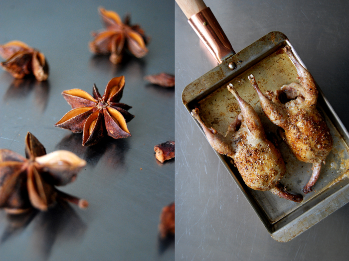 Quail with Spices