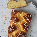 Sweet Braided Yeast Bread