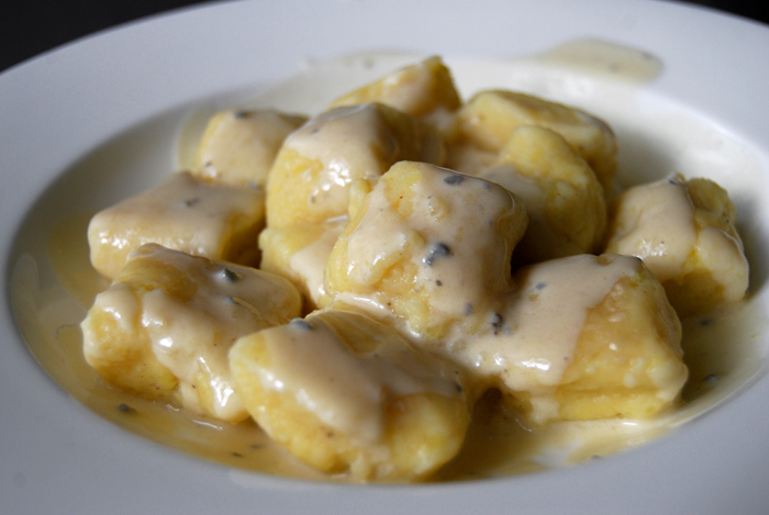 Gnocchi with Blue Cheese Sauce