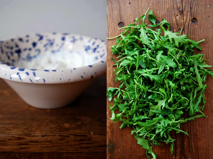 Rucola Goat Cheese Salad