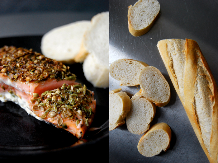Salmon with Spice Crust