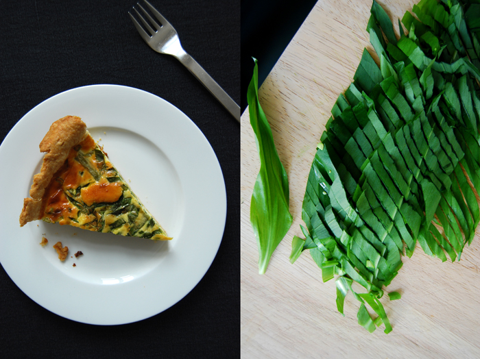 Bean and Ramp Quiche