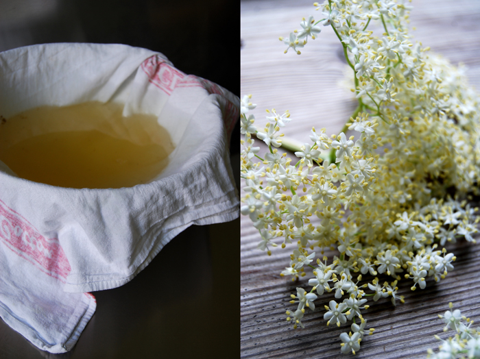 Elderflower Syrup for a Hugo Cocktail
