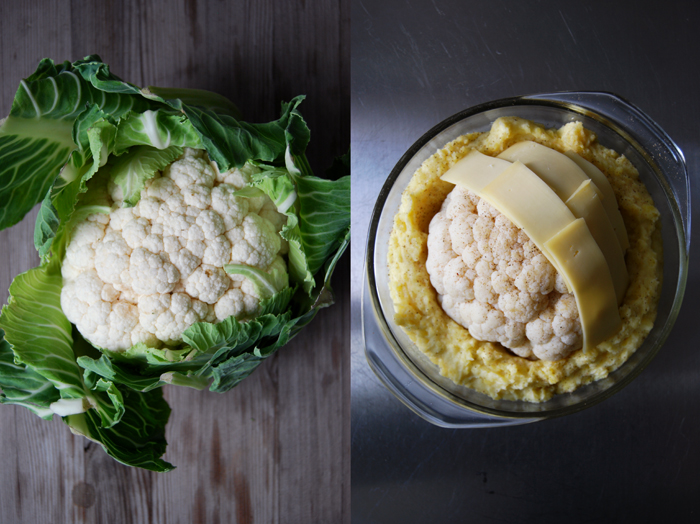Cauliflower + Potato Gratin
