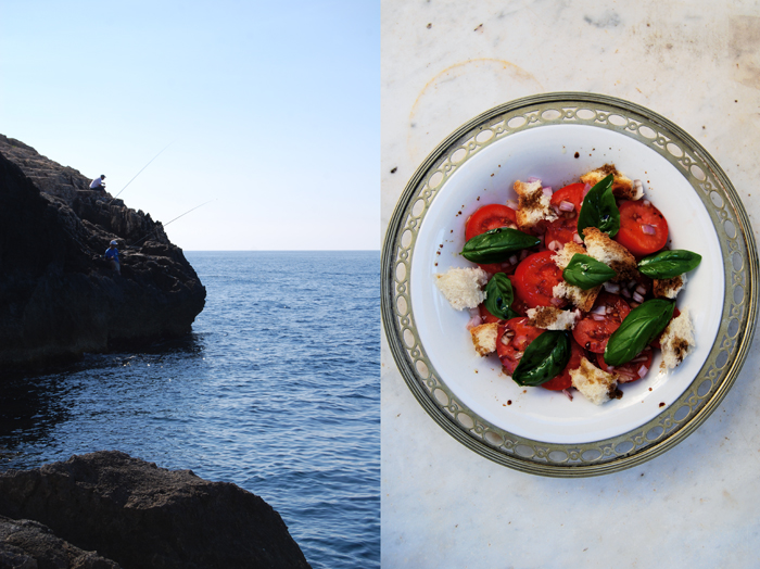 Bread Salad with Tomato + Basil