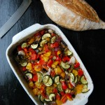 Mediterranean Feta and Vegetable Casserole