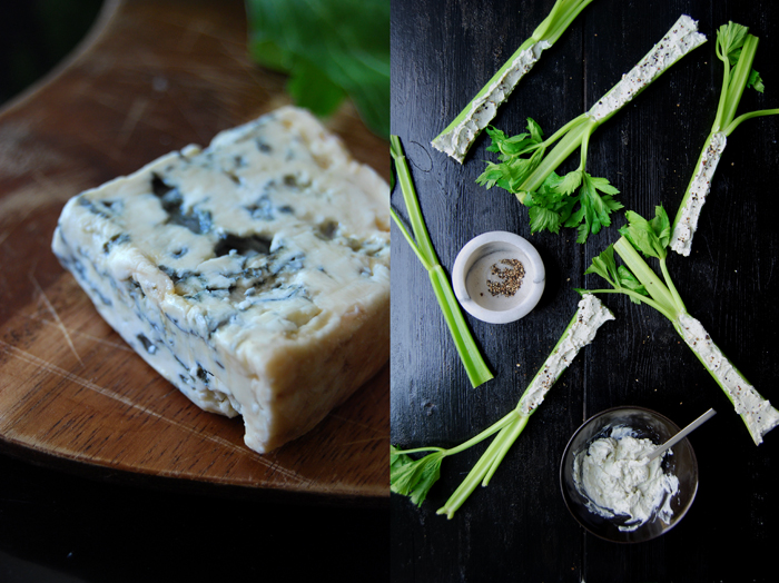 Celery and Blue Cheese