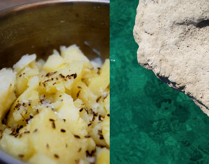 Mashed Potatoes with Fennel Oil