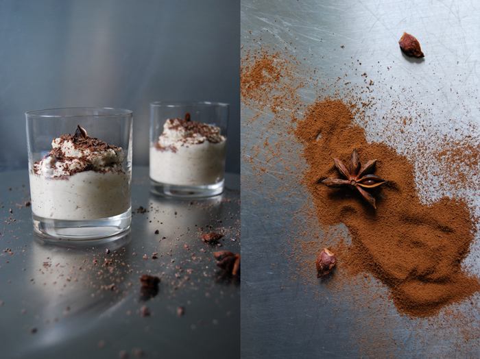 Coffee Ricotta Mousse