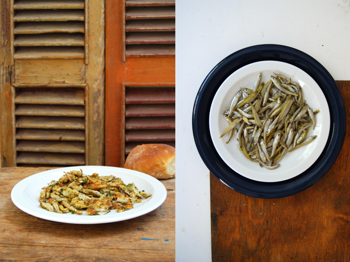 Golden Whitebait with Parsley