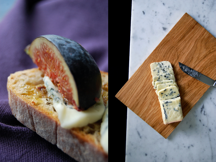 Gorgonzola and Fig Ciabatta Sandwich