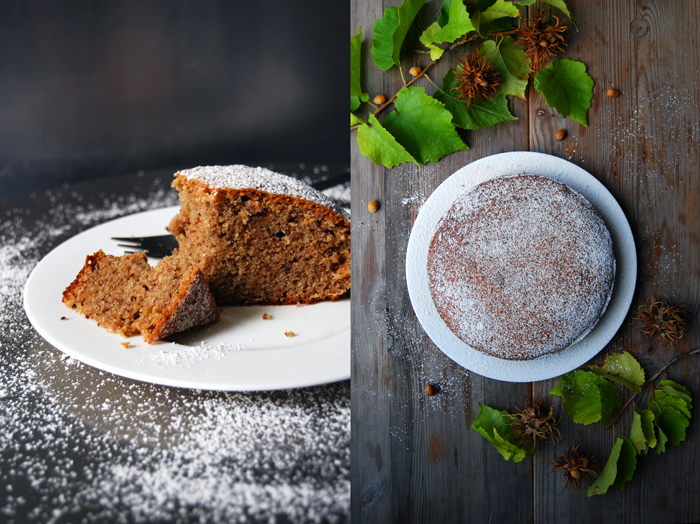 Hazelnut and Buckwheat Cake