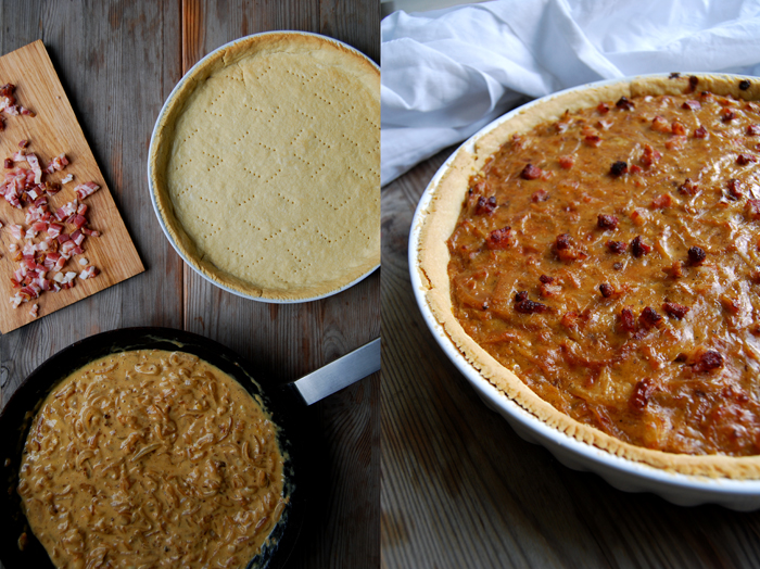 Onion and Bacon Pie