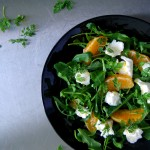 Mozzarella, Orange and Chervil Salad