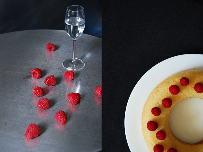Raspberry Savarin