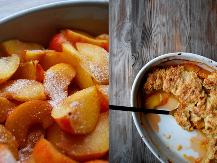 Yellow Plum Cobbler