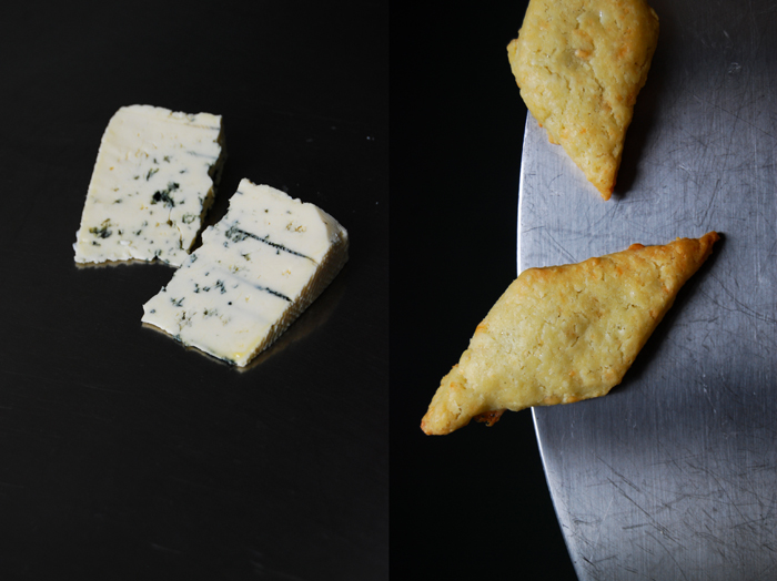 Buttery Blue Cheese Cookies