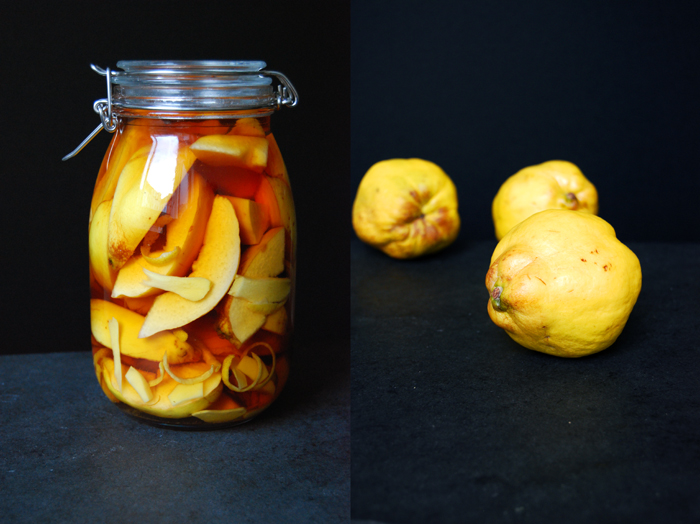 Ginger, Lemon and Quince Brandy - eat in my kitchen eat in my kitchen