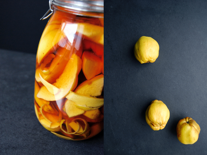Ginger, Lemon and Quince Brandy