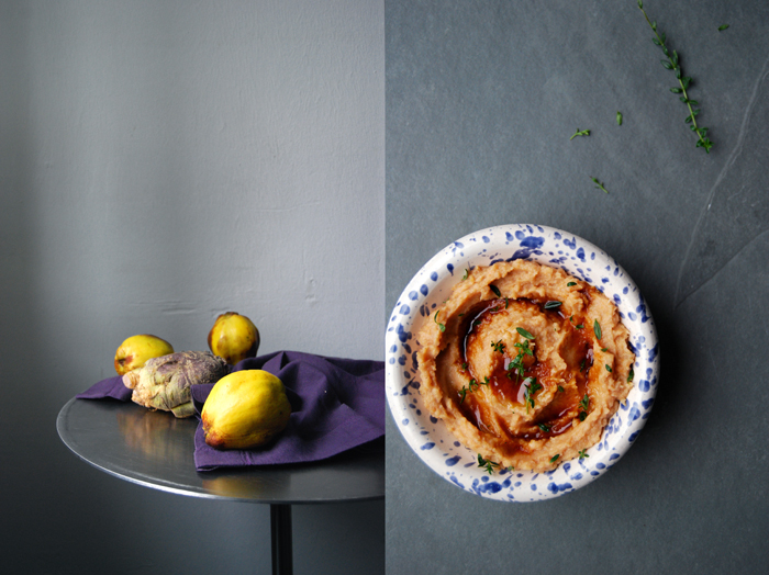 Quince and Rutabaga Purée