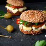 Grilled Feta and Fennel Sandwich with Caper Berries