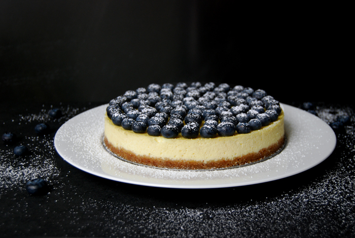 lueberry Ricotta Cheesecake