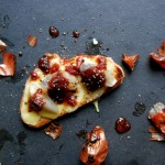 Roasted Shallots, Grilled Gruyère and Chutney Sandwich