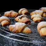 Banana and Chocolate Spread Rugelach