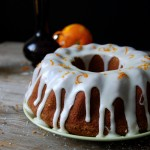 Olive Oil Bundt Cake with Orange Icing