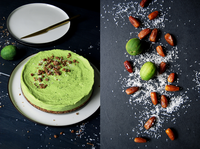 Avocado Lime Cheesecake