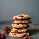 Redcurrant and Oat Cookies