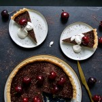Cherry Chocolate Tart