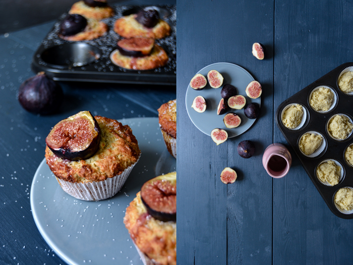 Fig, Ricotta and Olive Oil Muffins