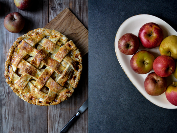 Chestnut and Apple Pie