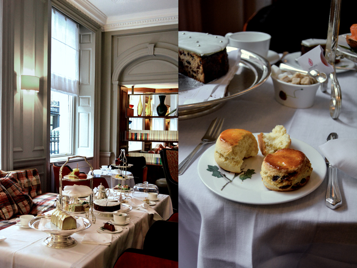 Scones & Tea Time at London's Brown's Hotel