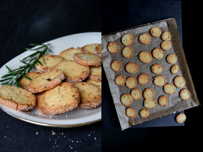 Rosemary & Lemon Heidesand Cookies