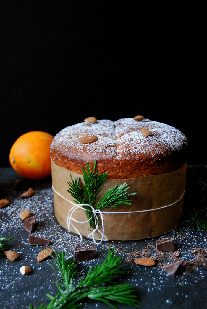 Chocolate Orange Panettone