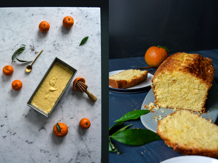 Clementine and Saffron Cake