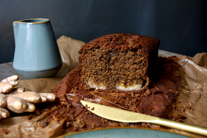 Sticky Banana Ginger Bread