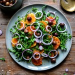 Blood Orange, Olive, and Red Onion Salad